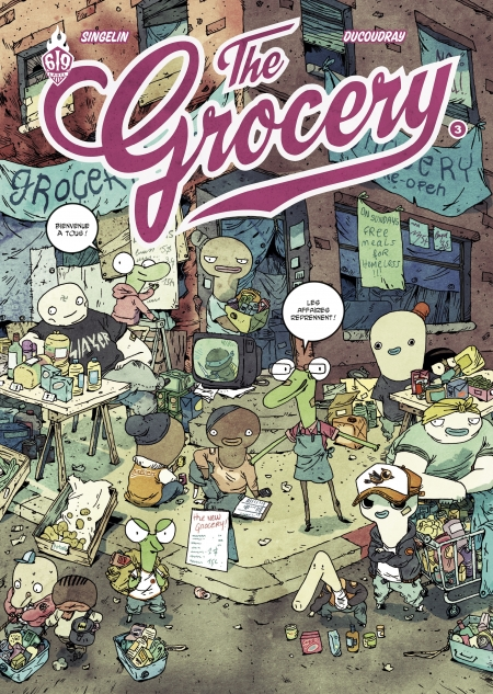 cover the grocery tome 3