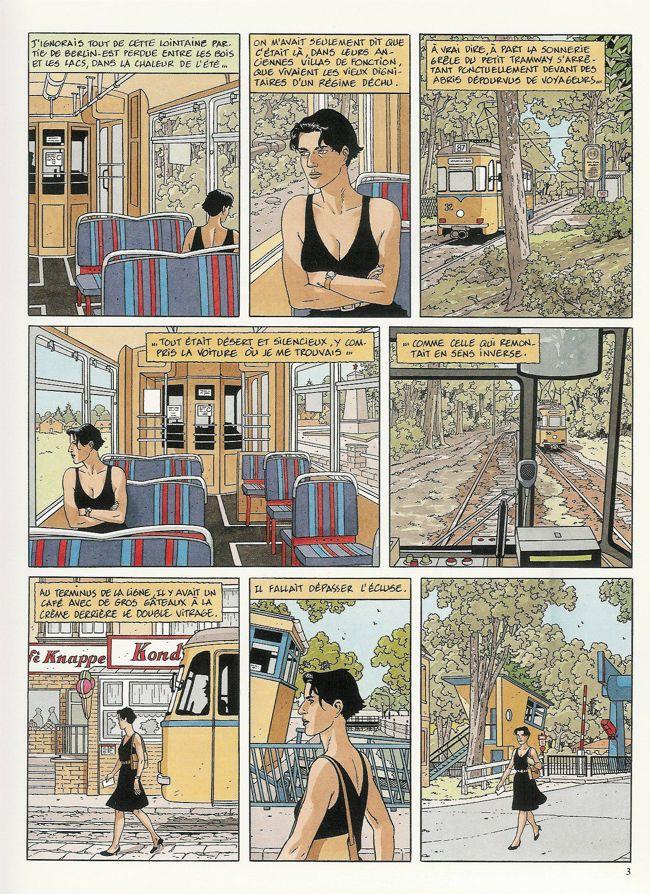 Le long voyage de Lena - planche - Rosebul.fr
