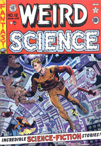 Cover_weird science comics Number 12_rosebul